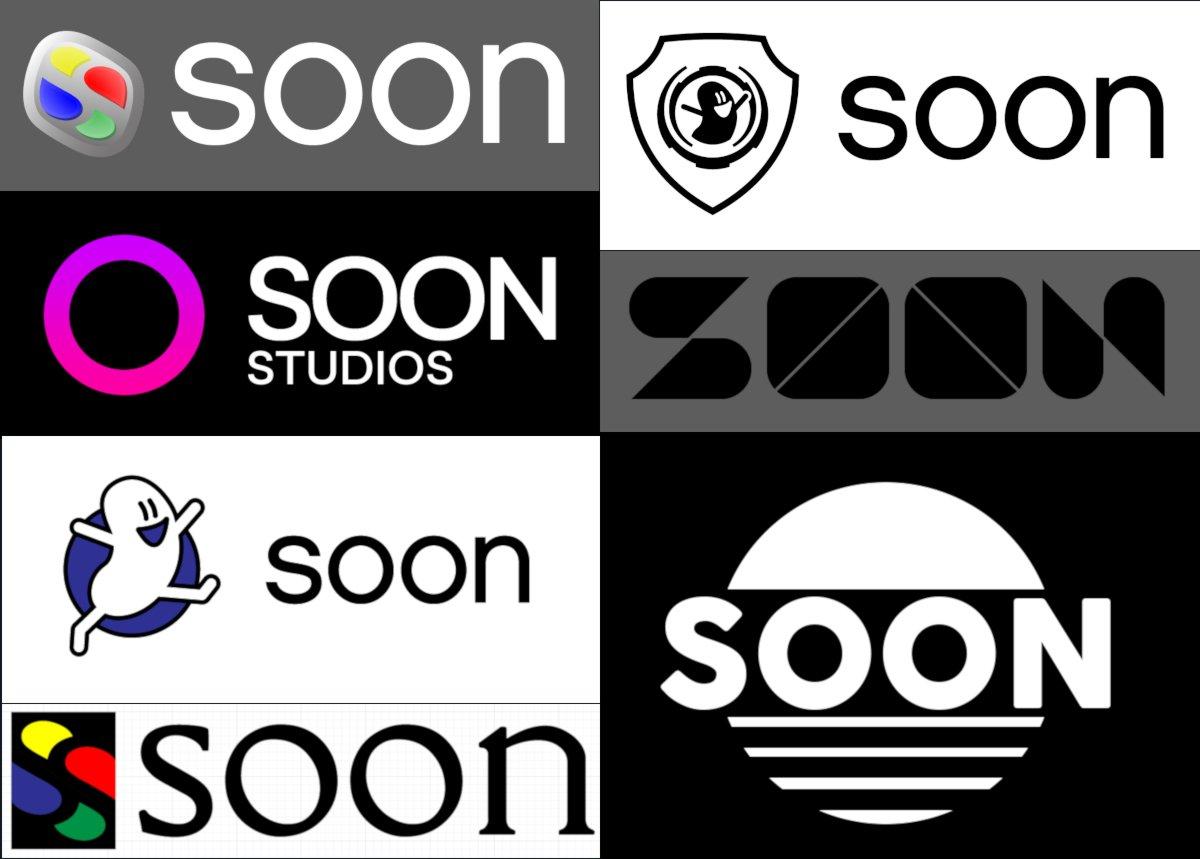 Soon Studios concept logos