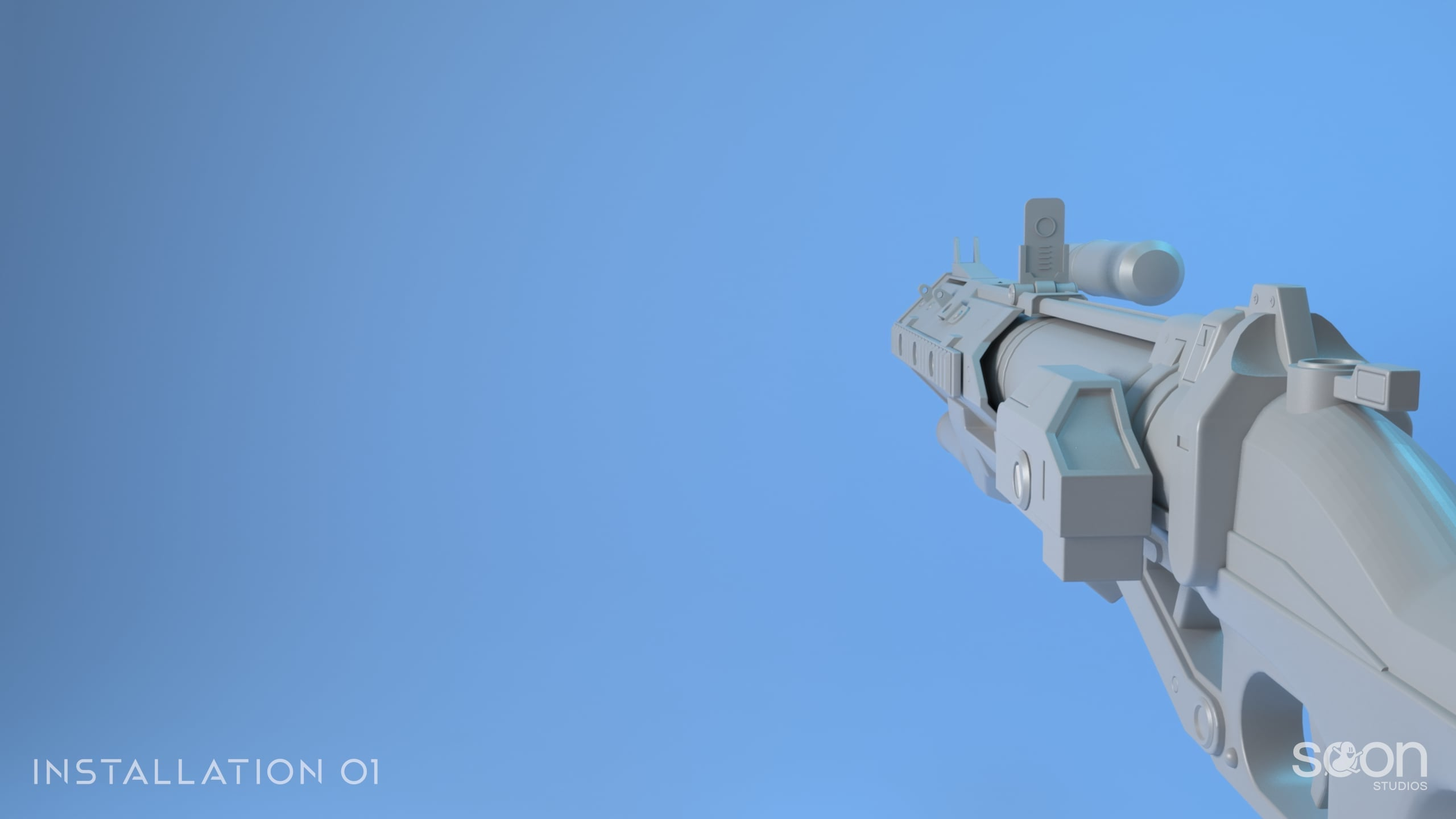 Installation 01 Grenade Launcher Model #2