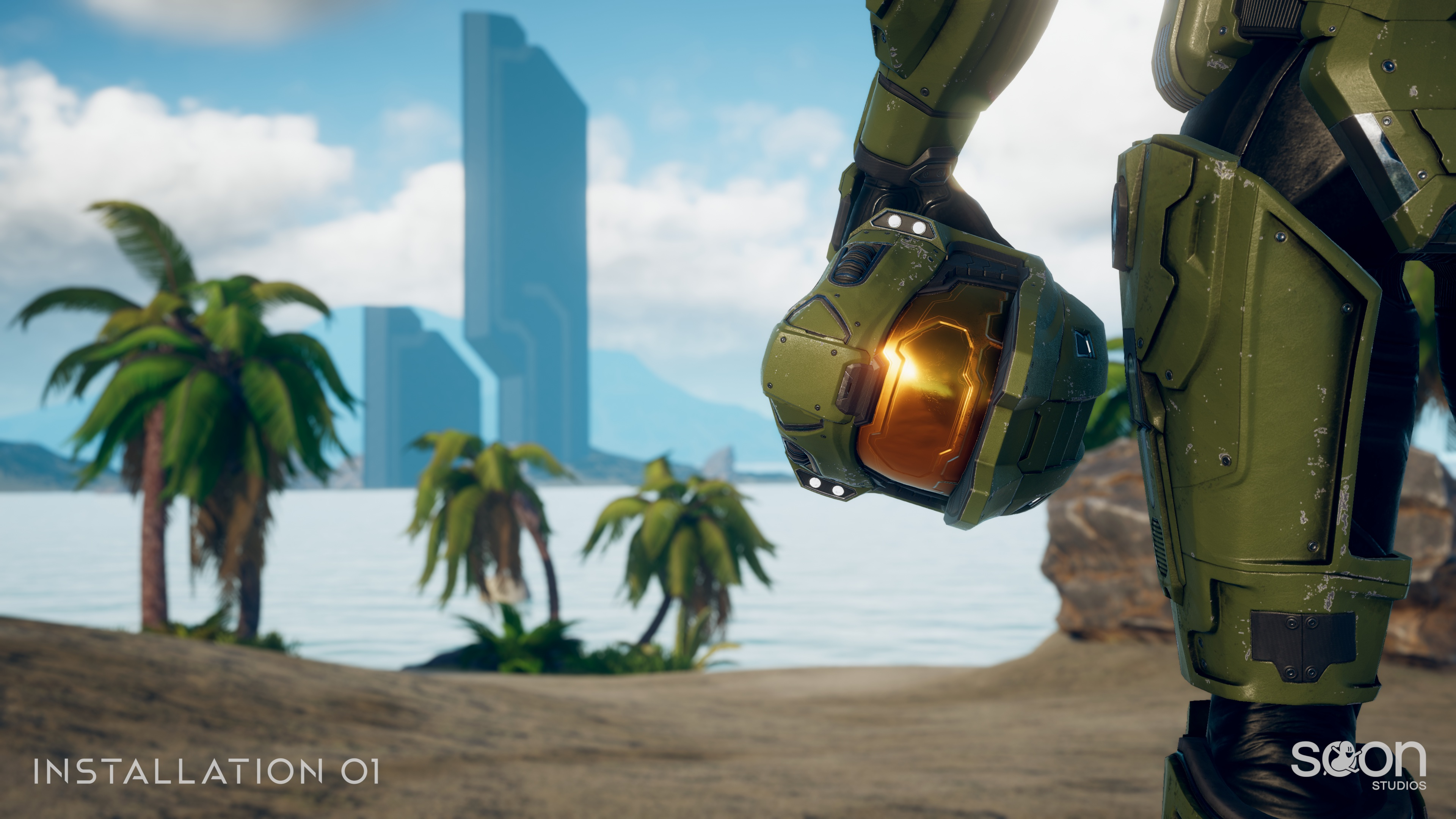 Installation 01 Halo Infinite wallpaper