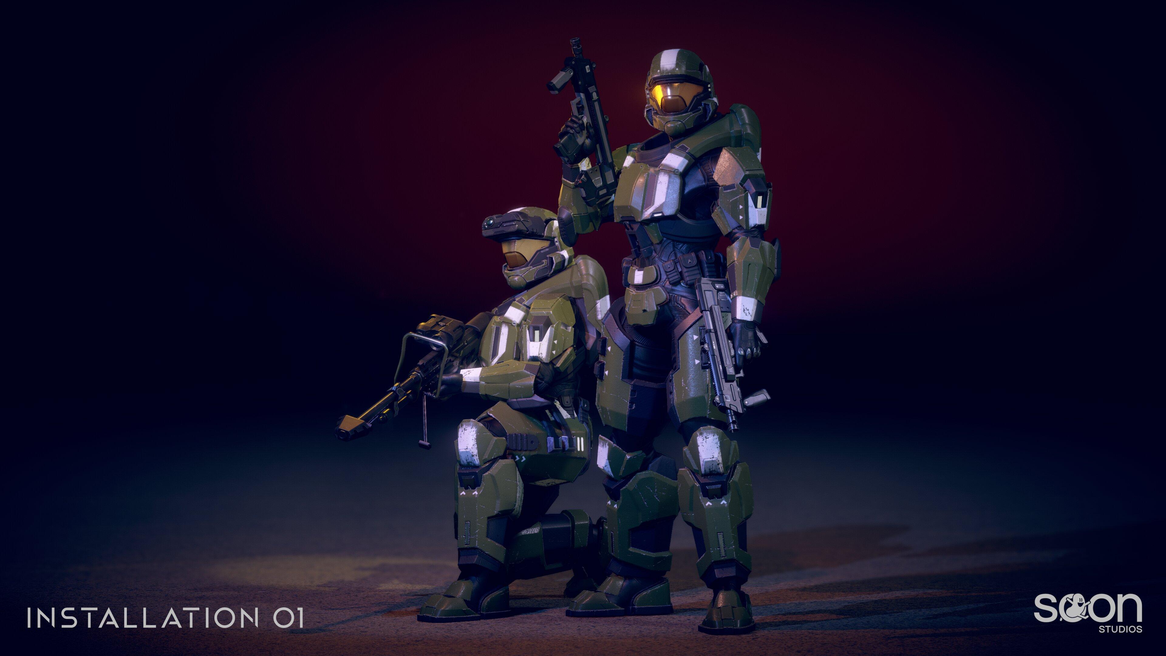 Installation 01 ODST Armors